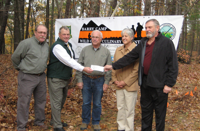 2014 Barry Camp Wild Game Culinary Adventure to be Held Sept. 26-28, 2014