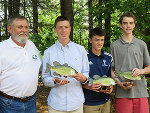 Students Win NH Fish and Game Award of Excellence