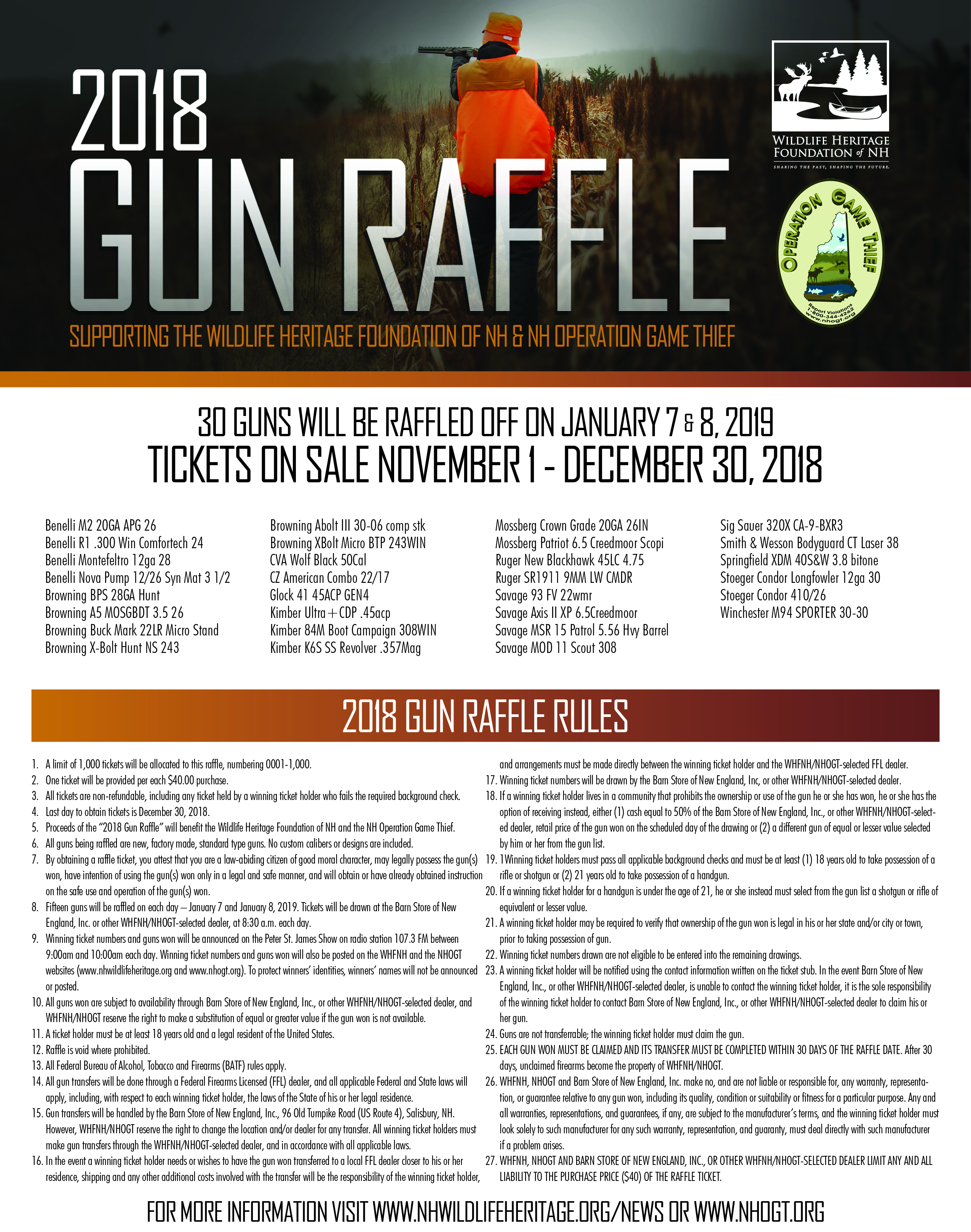 gun raffle tickets - Suzen rabionetassociats com