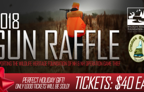 2018 Gun Raffle Winning Numbers
